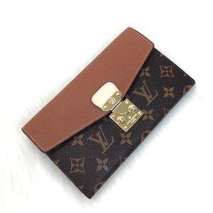 Louis Vuitton Pallas Wallet %100 Authentic Leather